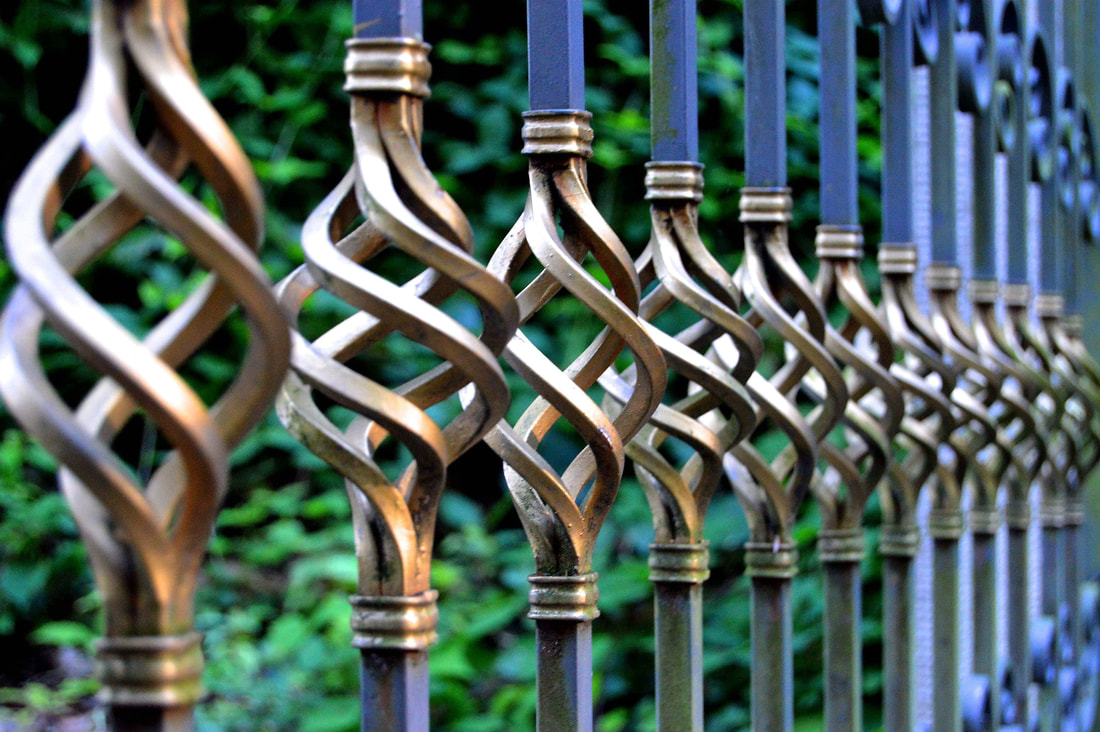 wrought iron fence lane cove